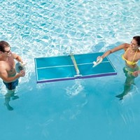 Floating Pool Pong Table