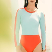 TOUCHÉ Sunstone Color Block Rashguard