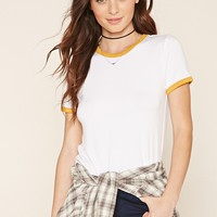 Jersey Knit Ringer Tee