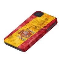 Flag of Spain iPhone 4 Case