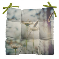 Bird Wanna Whistle Summers Past Outdoor Seat Cushion