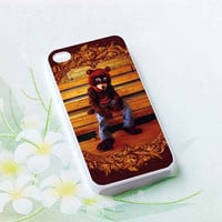 Kanye West Bear customized for iphone 4/4s/5/5s/5c, samsung galaxy s3/s4/s5 and ipod 4/5 cases