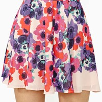Nasty Gal Bloom Street Skater Skirt