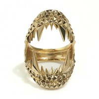 Vampire Bite Ring - Gold