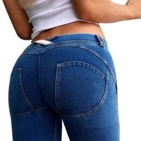 Jessie Butt lift Enhancing Jeans BLUE