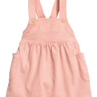 Cotton Bib Overall Dress - from H&M