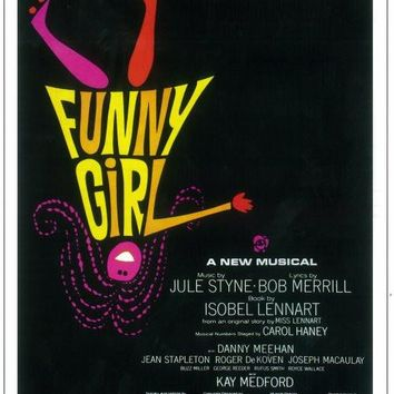 Funny Girl 14x22 Broadway Show Poster (1964)