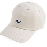 Vineyard Vines Signature Whale Logo Baseball Hat- Boardwalk