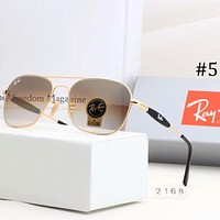 Ray-Ban 2018 men and women couples leisure vacation sunglasses glass film sunglasses F-A-SDYJ #3