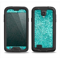 The Turquoise Mosaic Tiled Samsung Galaxy S4 LifeProof Fre Case Skin Set