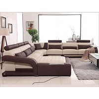Mainstays Leather Sectional Leather Sofa