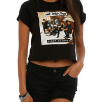 One Direction Night Changes Girls Crop Top
