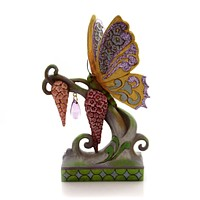 Jim Shore BUTTERFLY KISSES Polyresin Heartwood Creek Spring 4051433
