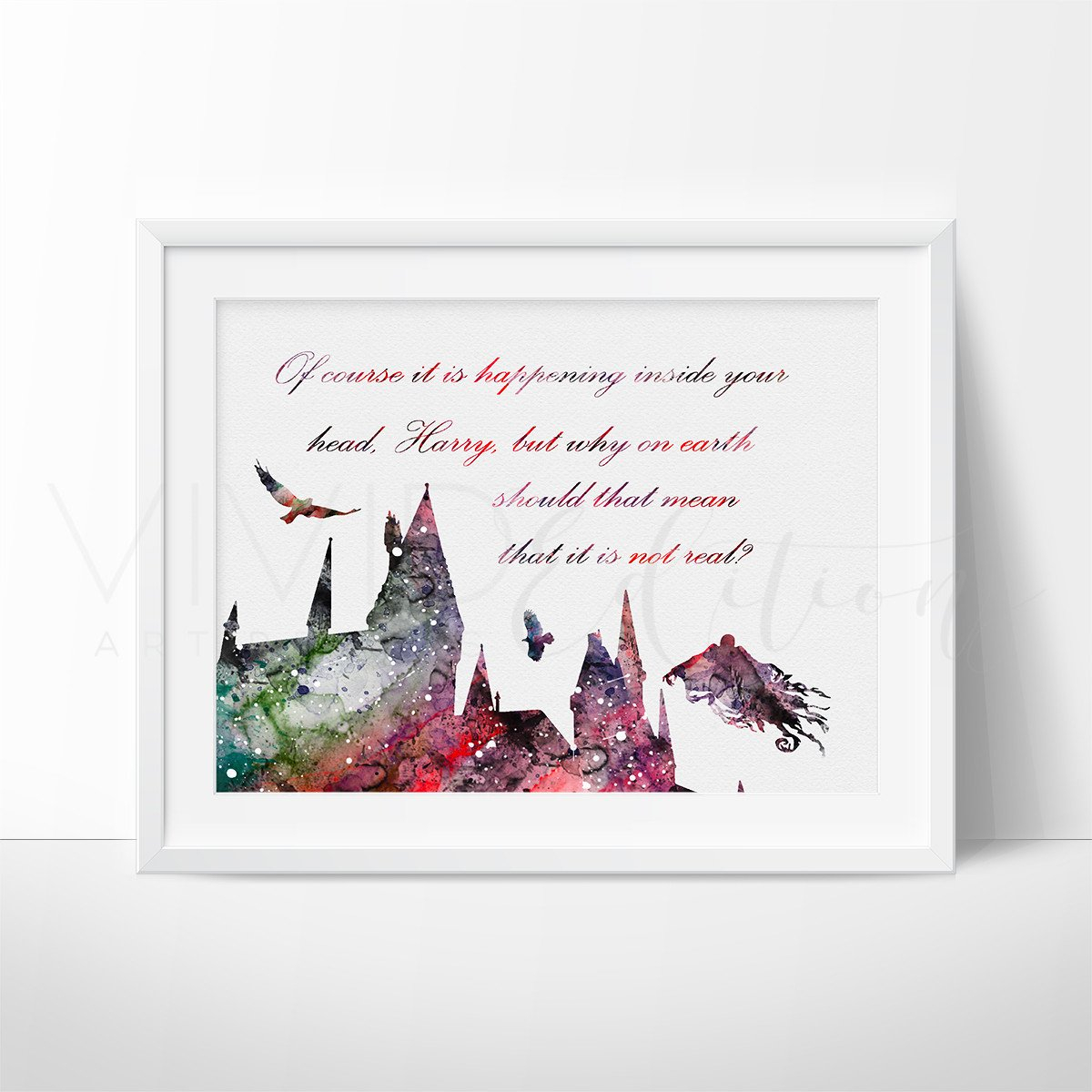 Image of Hogwarts Quote 2, Harry Potter