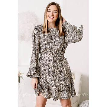 May I Have This Dance Spotted Mini Dress