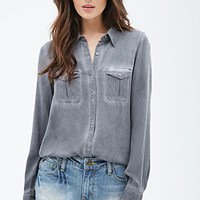 Faded Button-Down Shirt