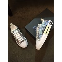 Best Quality Christian Dior 2020 Popular Men Casual Breathable Canvas blue black white Dior sport Sneakers Running Shoes for men TREDING mens Valentino low top shoe