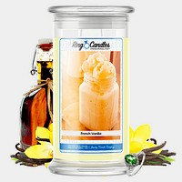 French Vanilla Ring Candle
