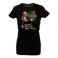 """Professor McGonagall's """"I've Always Wanted to Use That Spell"""" Juniors T-Shirt 