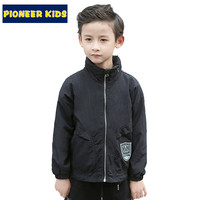 Kids Boy's Coat Spring WindProof Children Outwear Toddler Boys Coats Jacket Boys Clothes Hooded For 4-16Y Boy