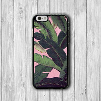 iPhone 6 Case - PINK Weave Palm Leaf Natural iPhone 6 Plus, Hawaii Tree TropiciPhone 5S, iPhone 5 Case, iPhone 5C Case, iPhone 4S Hipster