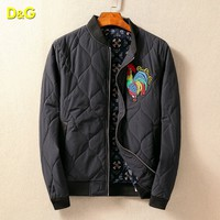 Boys & Men Dolce&Gabbana Fashion Casual Cardigan Jacket Coat