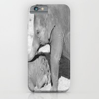 Baby elephants iPhone & iPod Case by Bethanylynn