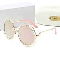 Chloe Hot Sale Women Cute Sun Shades Eyeglasses Glasses Sunglasses