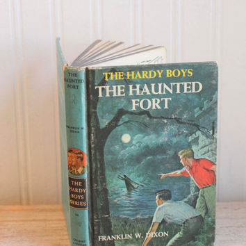Vintage Hardy Boys Book -The Haunted Fort Mystery for Boys 1965