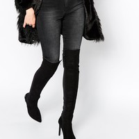 Blink Over The Knee Heeled Boots