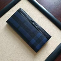 BURBERRY MEN'S LEATHER WALLET