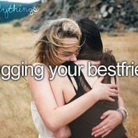 hugging your bestfriend - image #1229272 by korshun on Favim.com