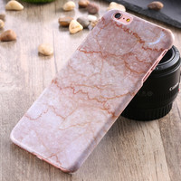 Marble Phone Case Hard PC Funda Cover for iPhone 5 5s se
