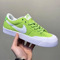 Nike SB ZOOM BLAZER LOW XT New fashion hook running couple shoes Green