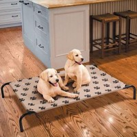 Indoor/outdoor Dog Bed Large | Pet Products | SkyMall