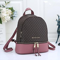 MK large capacity personality all-match backpack bag