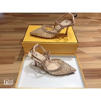 FENDI 2021 Women Casual Shoes Boots fashionable casual leather  0414gh