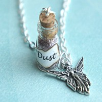 fairy dust potion necklace