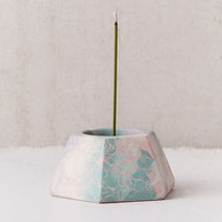 Concrete Cat X UO All-In-One Candle + Incense Holder | Urban Outfitters