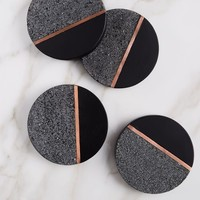 Lava Rock Coasters (Set of 4)