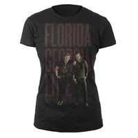 Florida Georgia Line Official Store | Standing Photo Jr. Tee