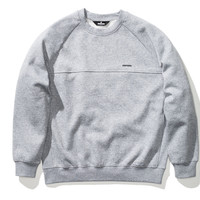 Undefeated Panel LS Crew In Grey Heather