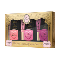 Melted Kisses & Sweet Cheeks - Too Faced