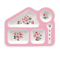 Grove Bunch Melamine Food Tray   Mealtime   CathKidston