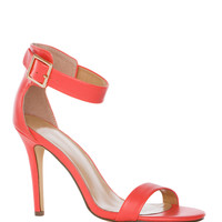 Giovanna Heels in Coral