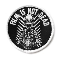 Film Is Not Dead Patch (Glow-in-the-Dark)