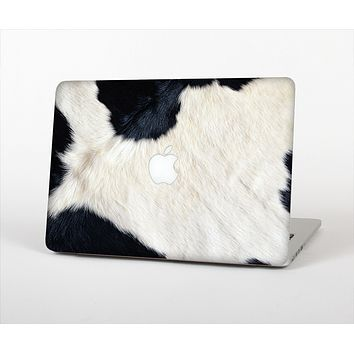 """The Real Cowhide Texture Skin Set for the Apple MacBook Pro 15"""" with Retina Display"""