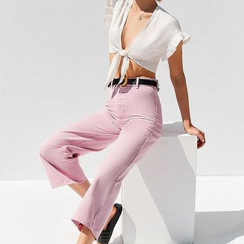 BDG High + Wide Cropped Jean – Cole | Urban Outfitters