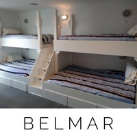 Belmar Adult bunk beds, Quad Bunkbeds for Adults