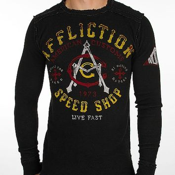 Affliction American Customs Speed Thermal Shirt